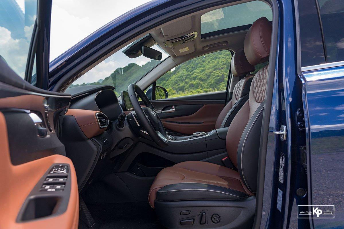 Ảnh Ghế lái xe Hyundai Santa Fe 2021