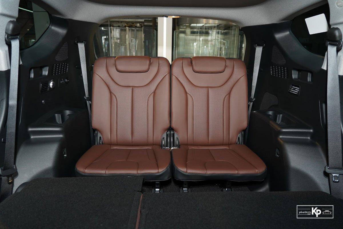 Ảnh Ghế cuối xe Hyundai Santa Fe 2021 a1