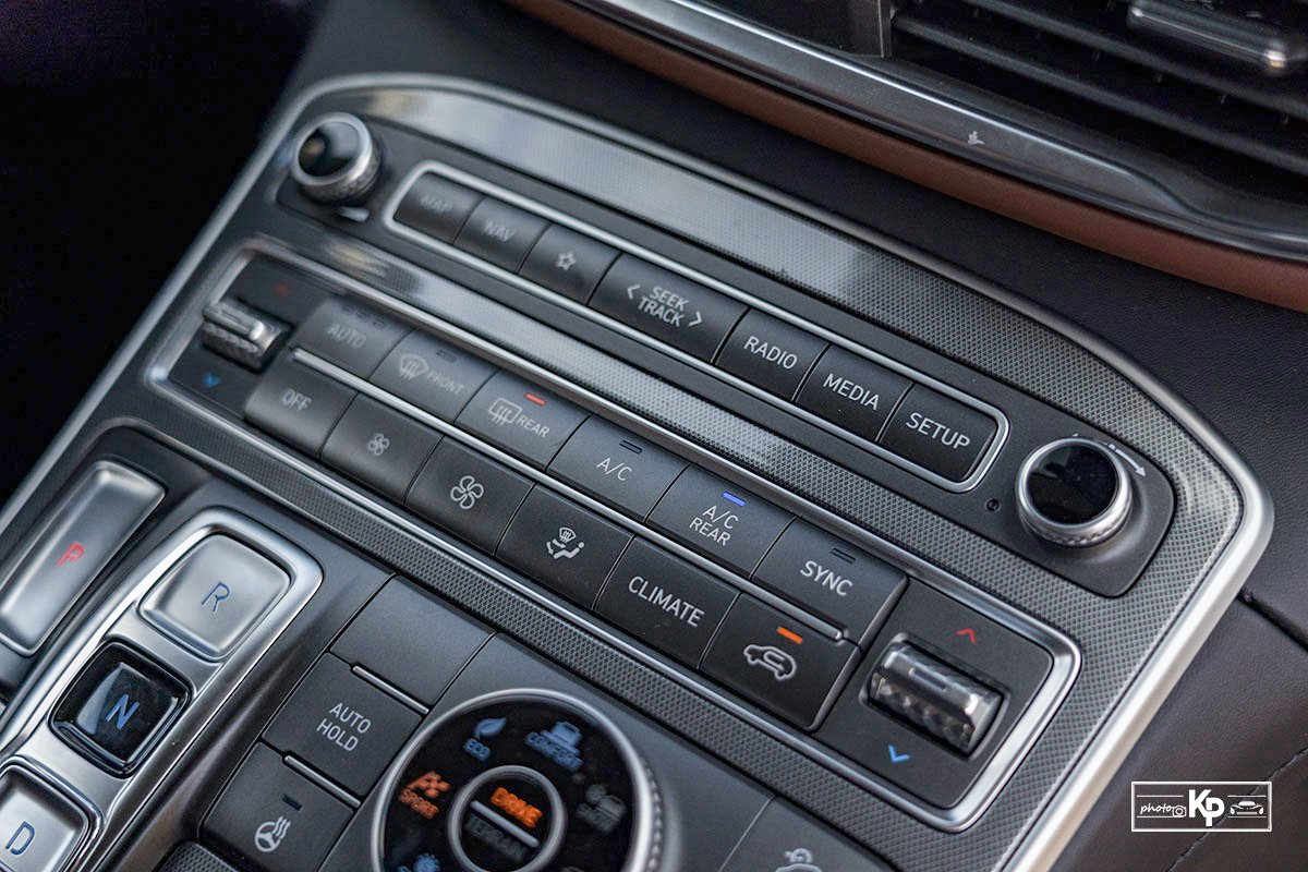 Ảnh Điều hòa xe Hyundai Santa Fe 2021