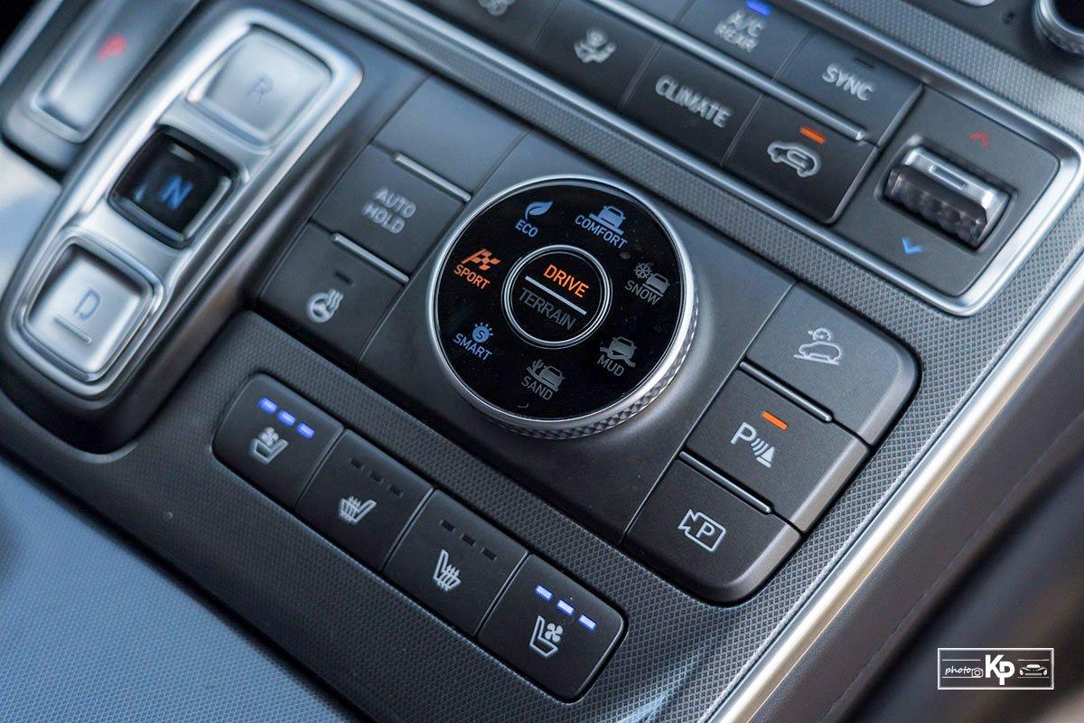 Ảnh Chế độ lái xe Hyundai Santa Fe 2021