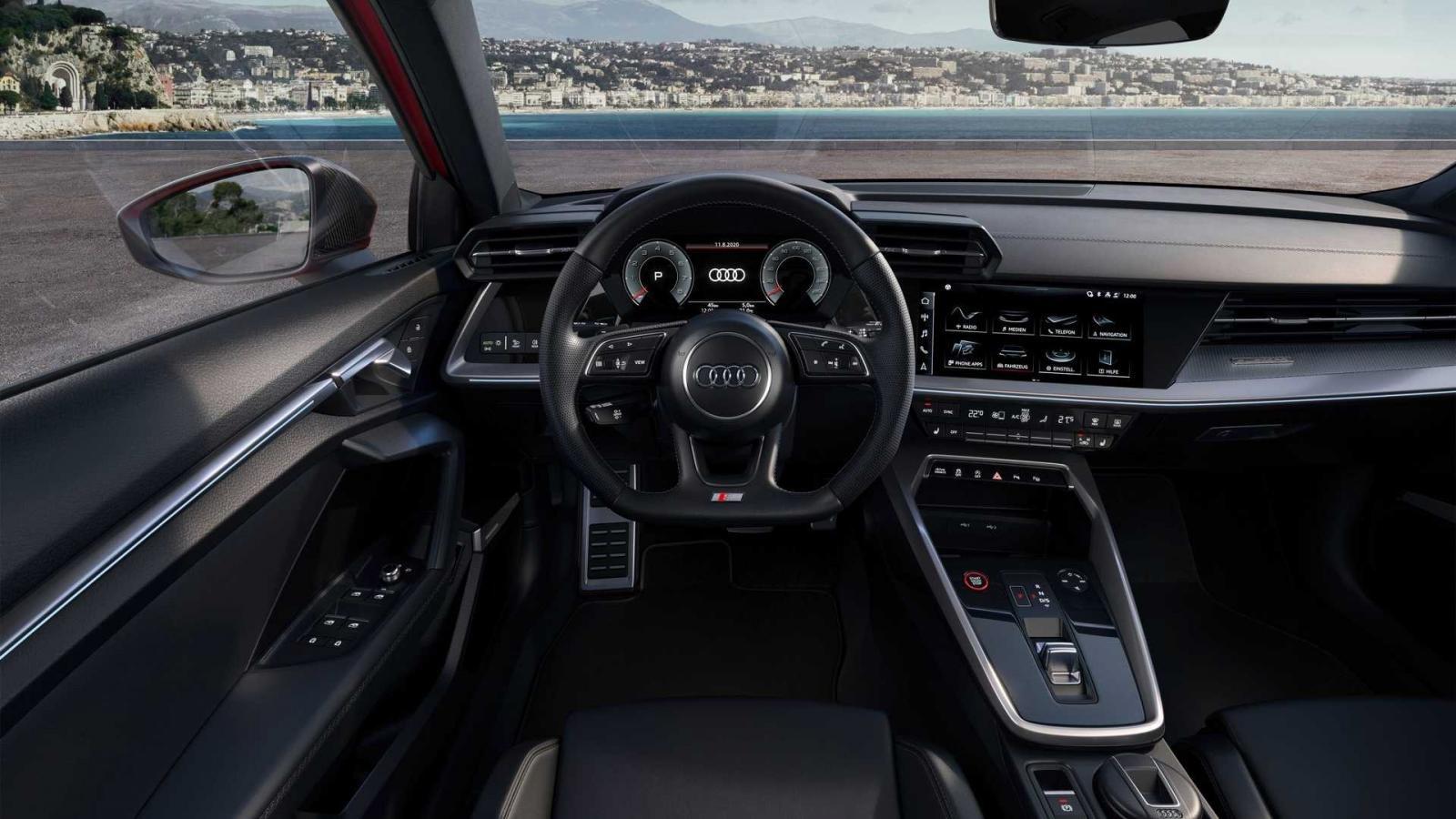 Audi A3 và S3 Sedan 2022 trang bị tối tân.