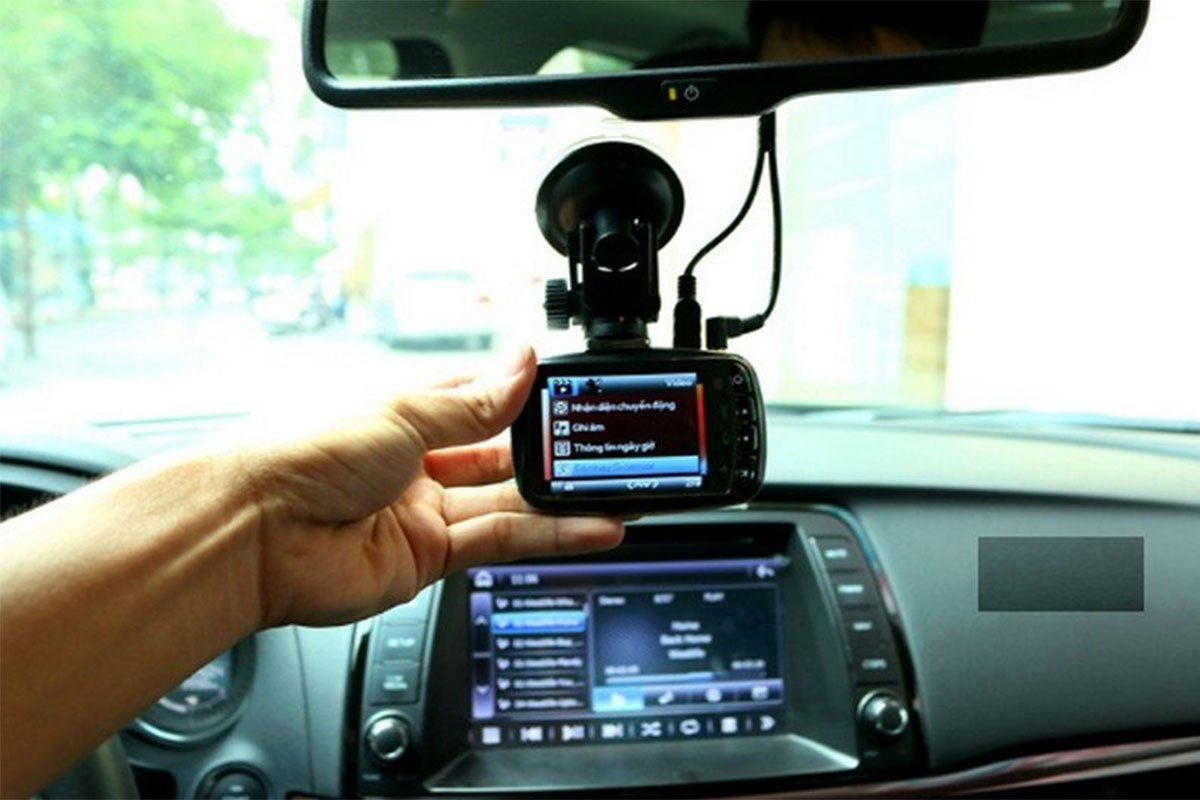 Camera hành trình đảm bảo ghi, lưu trữ hình ảnh trong quá trình xe tham gia giao thông