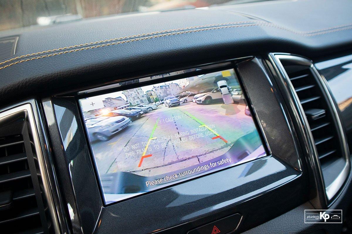 hệ thống an toàn xe Ford Ranger 2021.