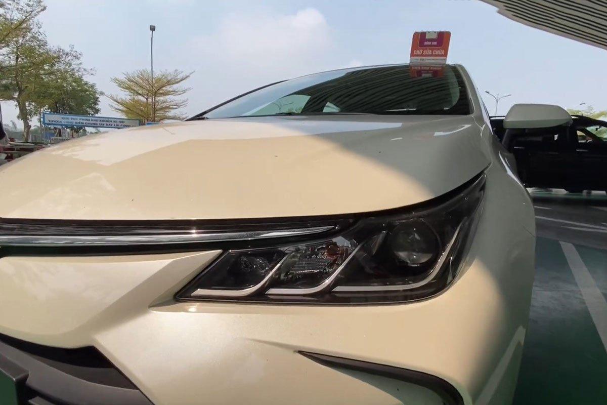 Video Toyota Corolla Altis 2022 bất ngờ xuất hiện tại Việt Nam a3
