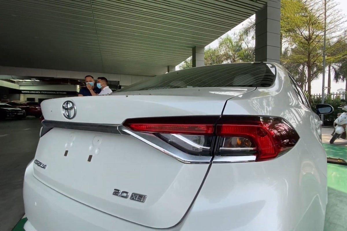 Video Toyota Corolla Altis 2022 bất ngờ xuất hiện tại Việt Nam a4