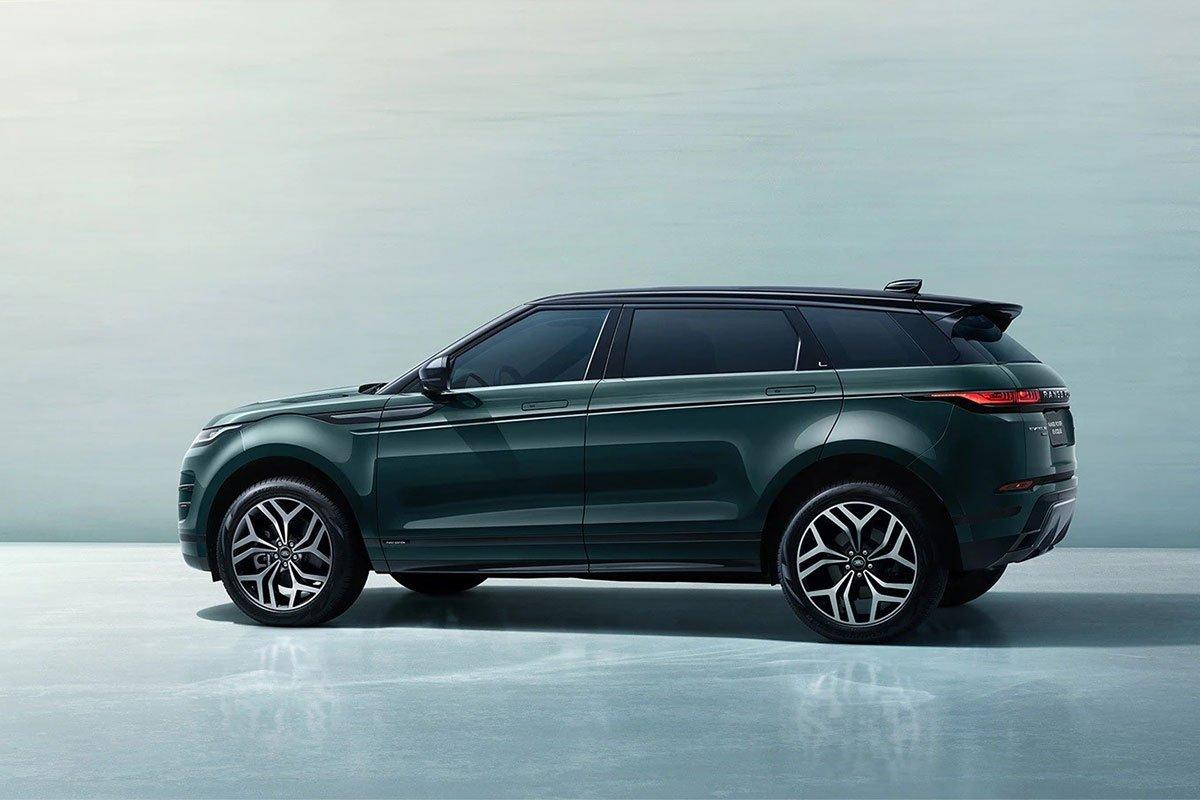 Range Rover Evoque L có chiều dài tổng thể lớn hơn 160 mm.