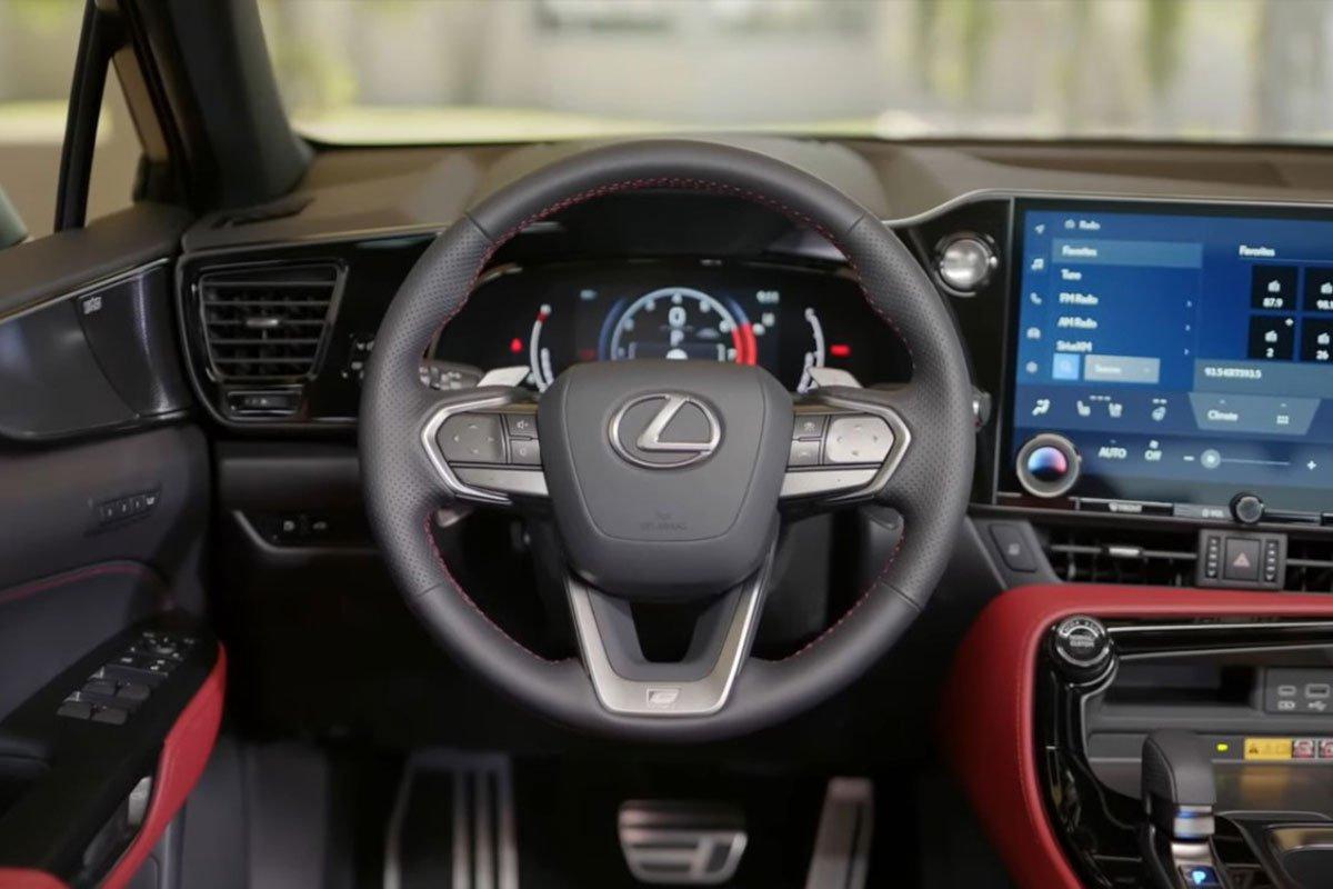 Trải nghiệm thực tế Lexus NX 2022, choáng ngợp bởi nội thất a5