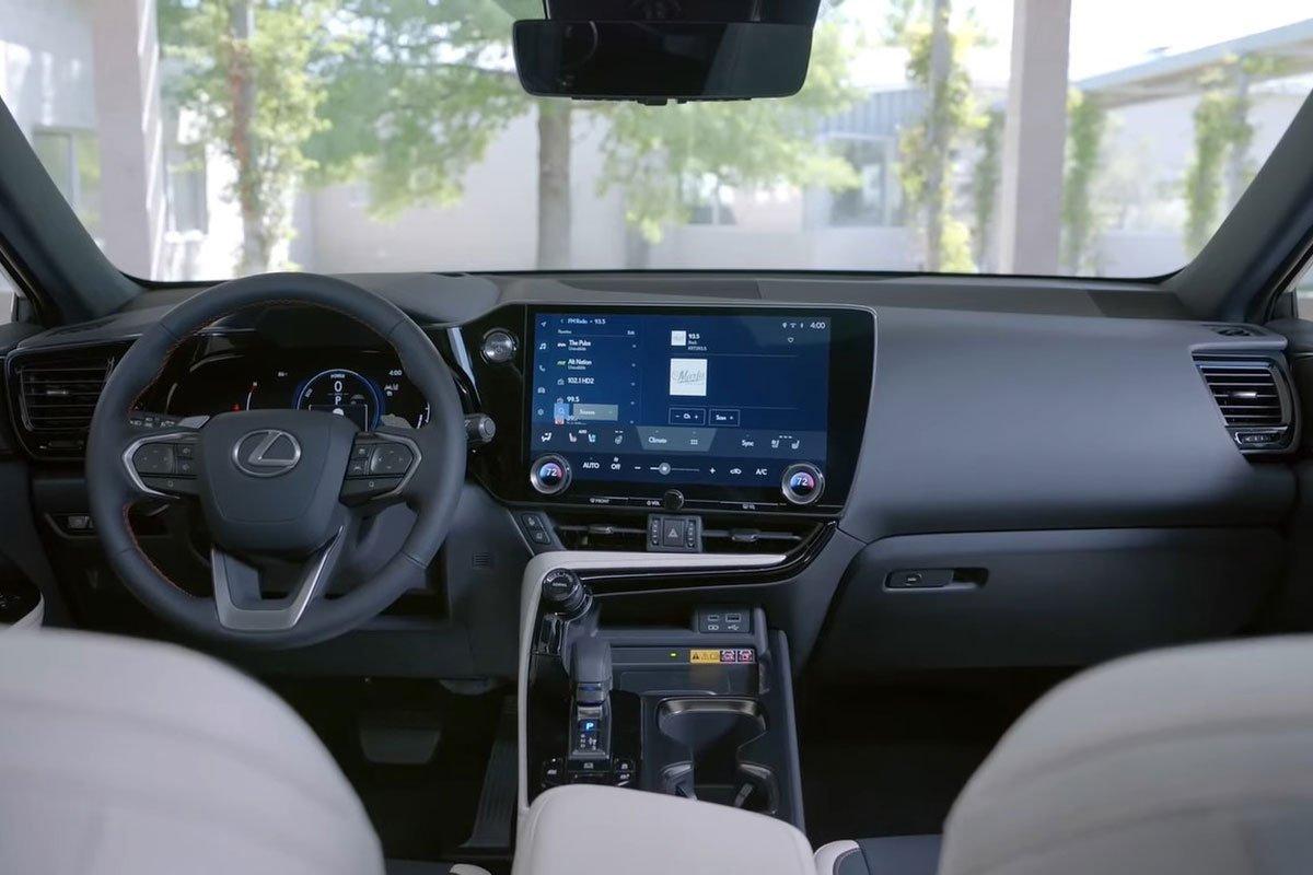 Trải nghiệm thực tế Lexus NX 2022, choáng ngợp bởi nội thất a4