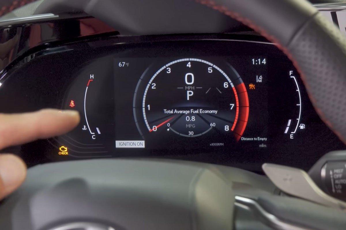 Trải nghiệm thực tế Lexus NX 2022, choáng ngợp bởi nội thất a6