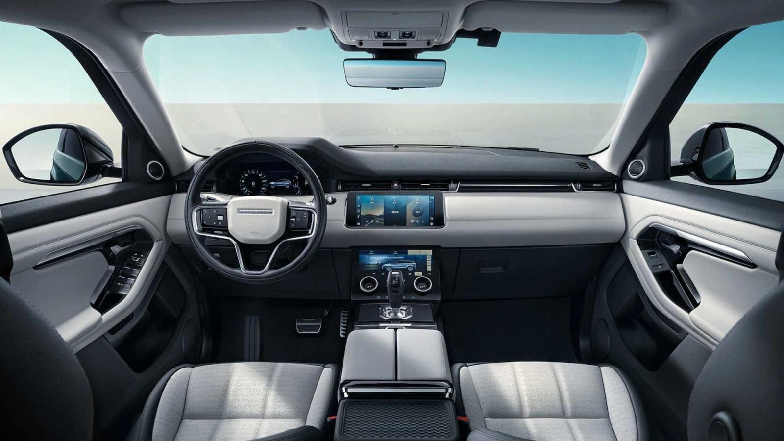 Land Rover Range Rover Evoque L hiện đại và có không gian rộng mở.