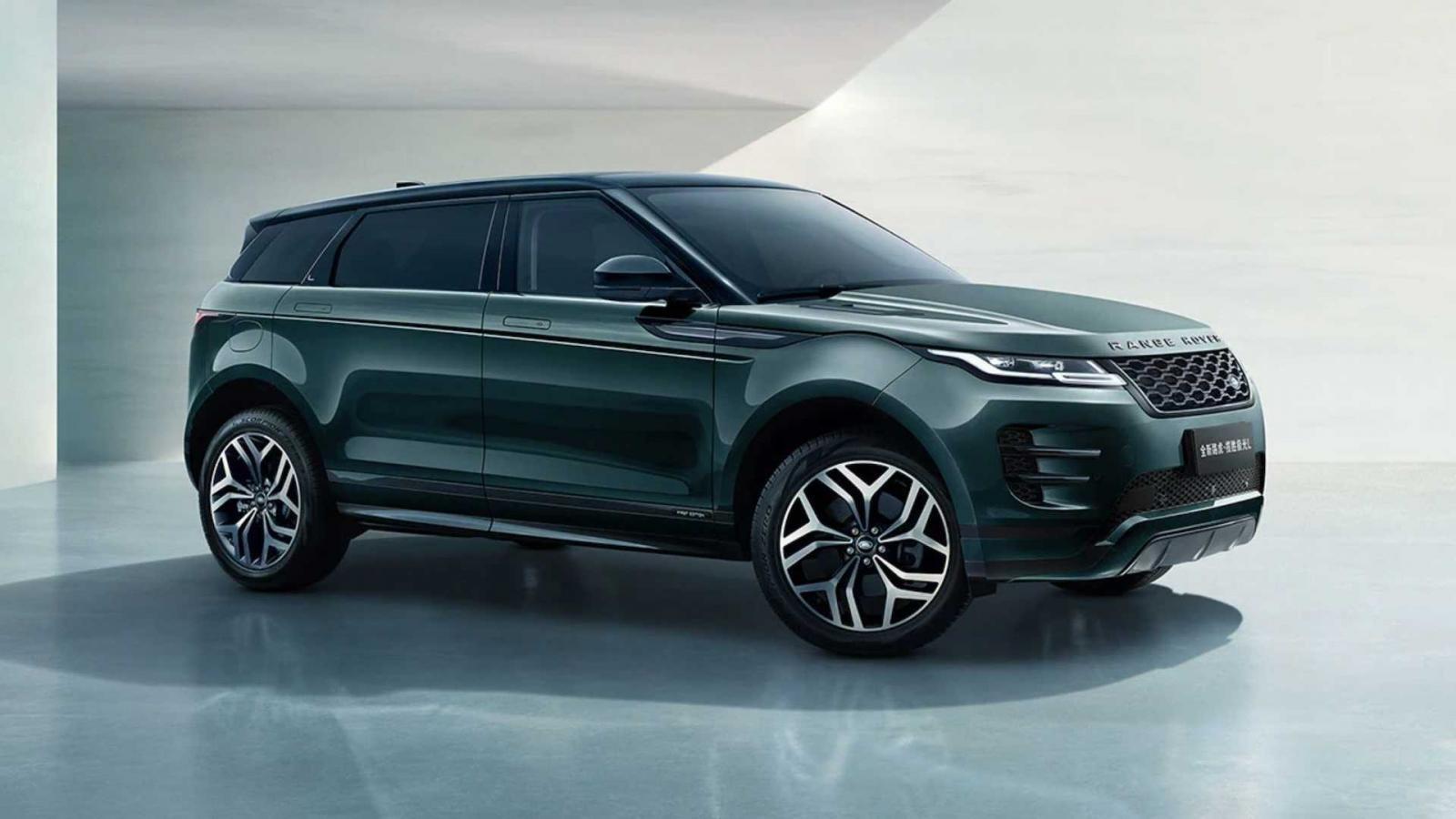 Vẫn còn thấy chật, Land Rover Range Rover Evoque ra luôn bản kéo dài chiều khách.