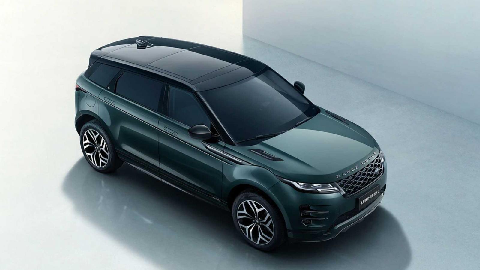 Land Rover Range Rover Evoque vốn khồng lồ còn được bành trướng hơn nữa.