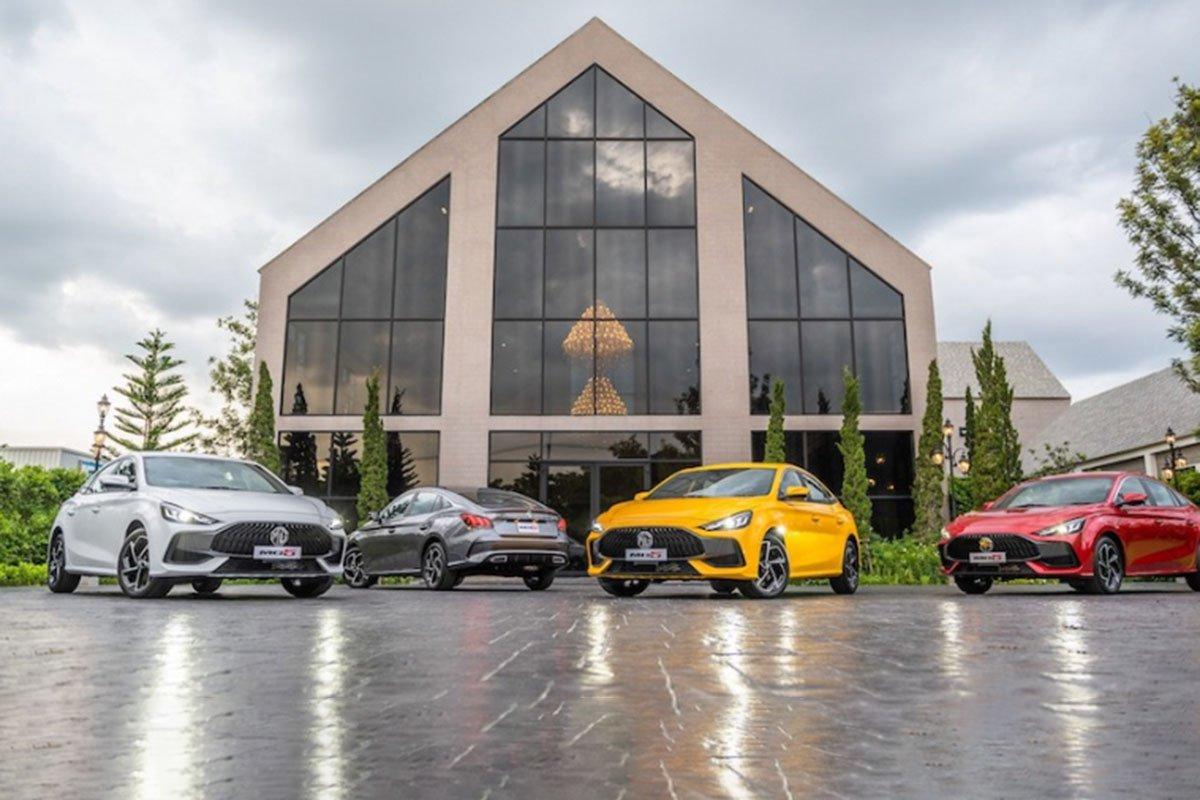 MG 5 2021 chính thức ra mắt Thái Lan, cận kề Việt Nam, gia quy đổi rẻ như Toyota Vios a1