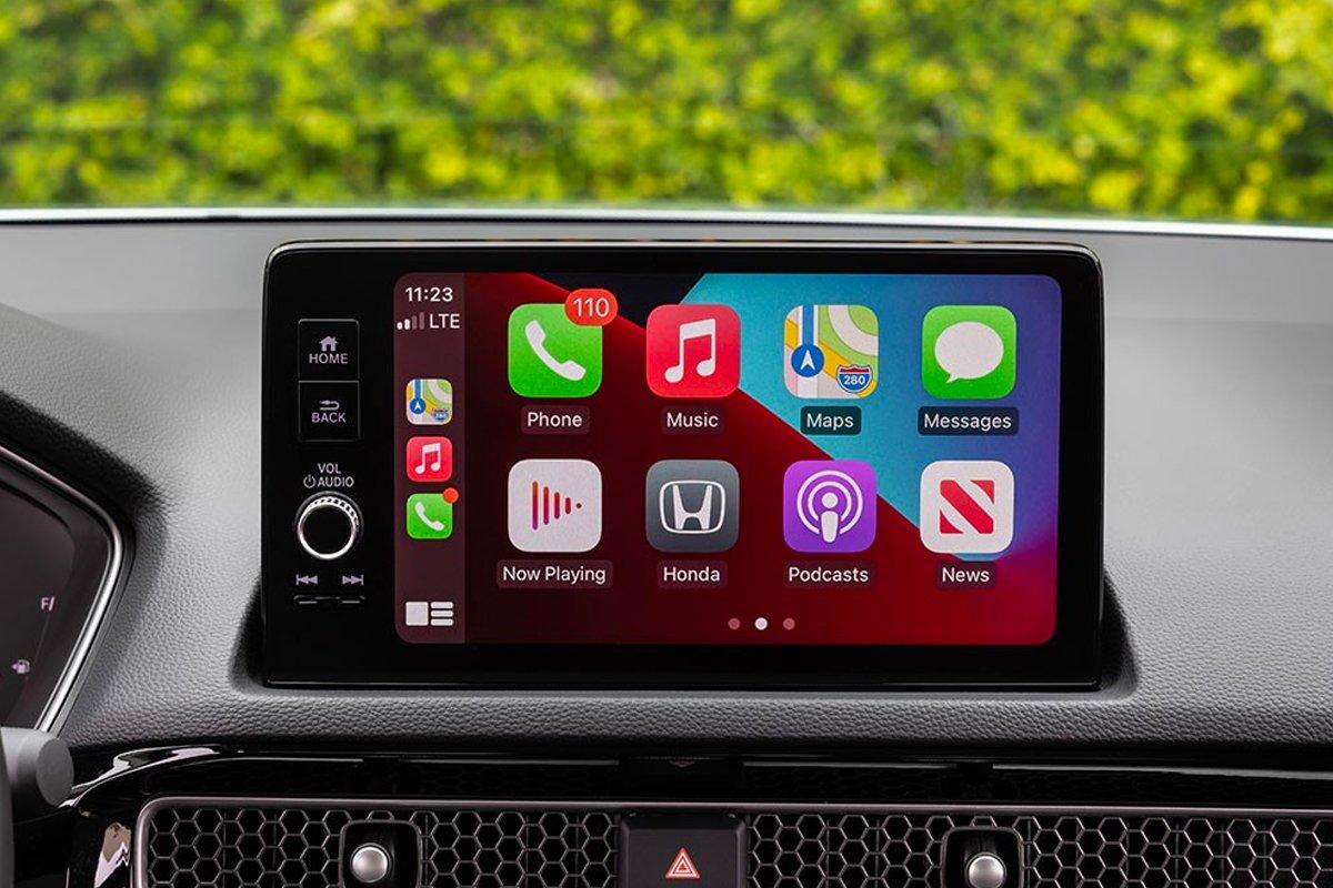 Honda Civic 2022 sở hữu màn hình thông tin giải trí 7 inch.