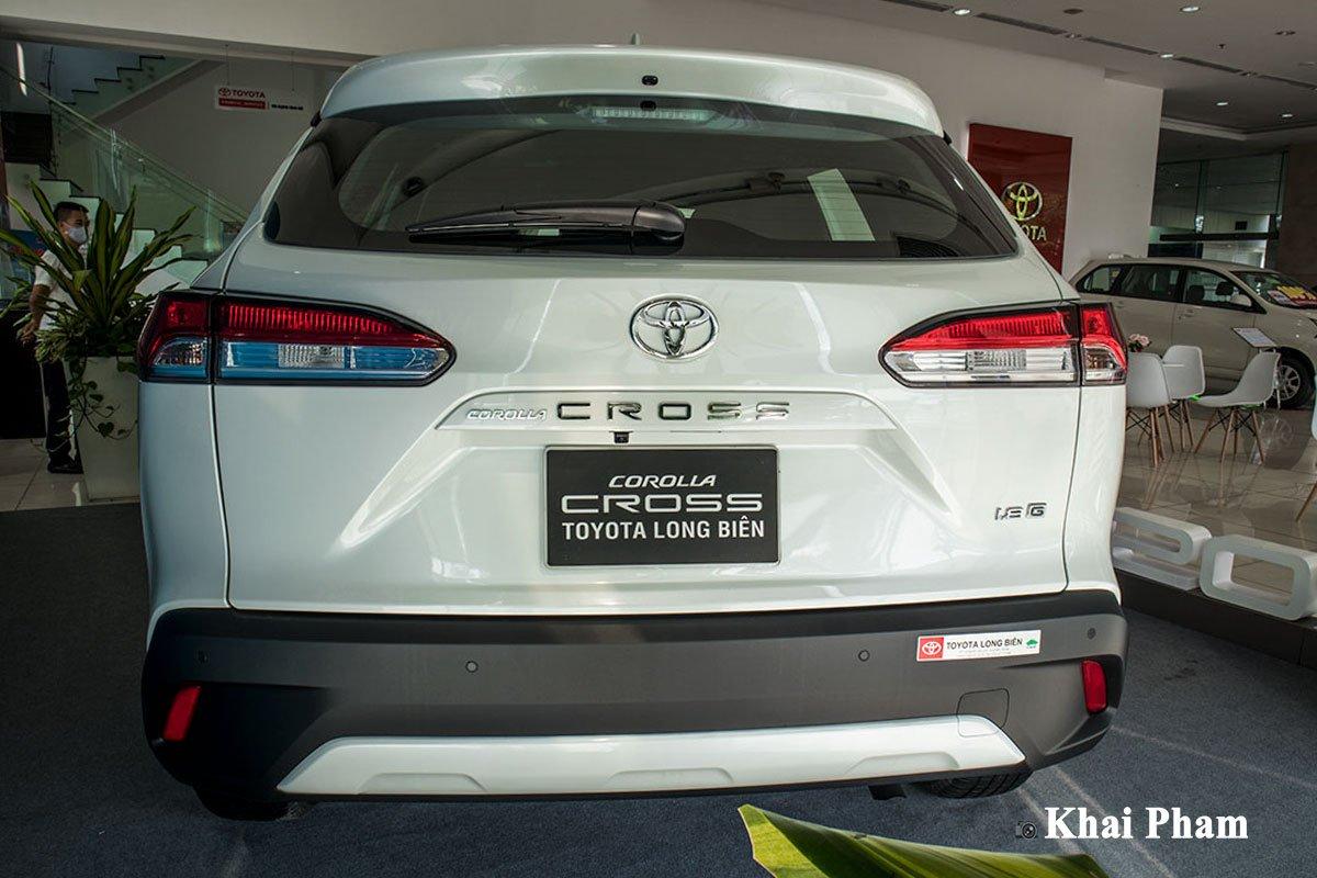 đuôixe Toyota Corolla Cross 2021