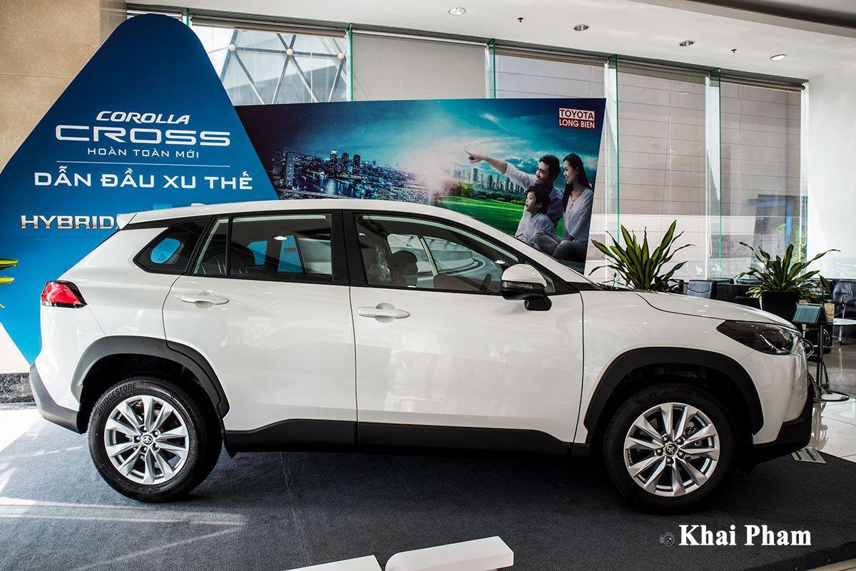 Ngoại thấtxe Toyota Corolla Cross 2021
