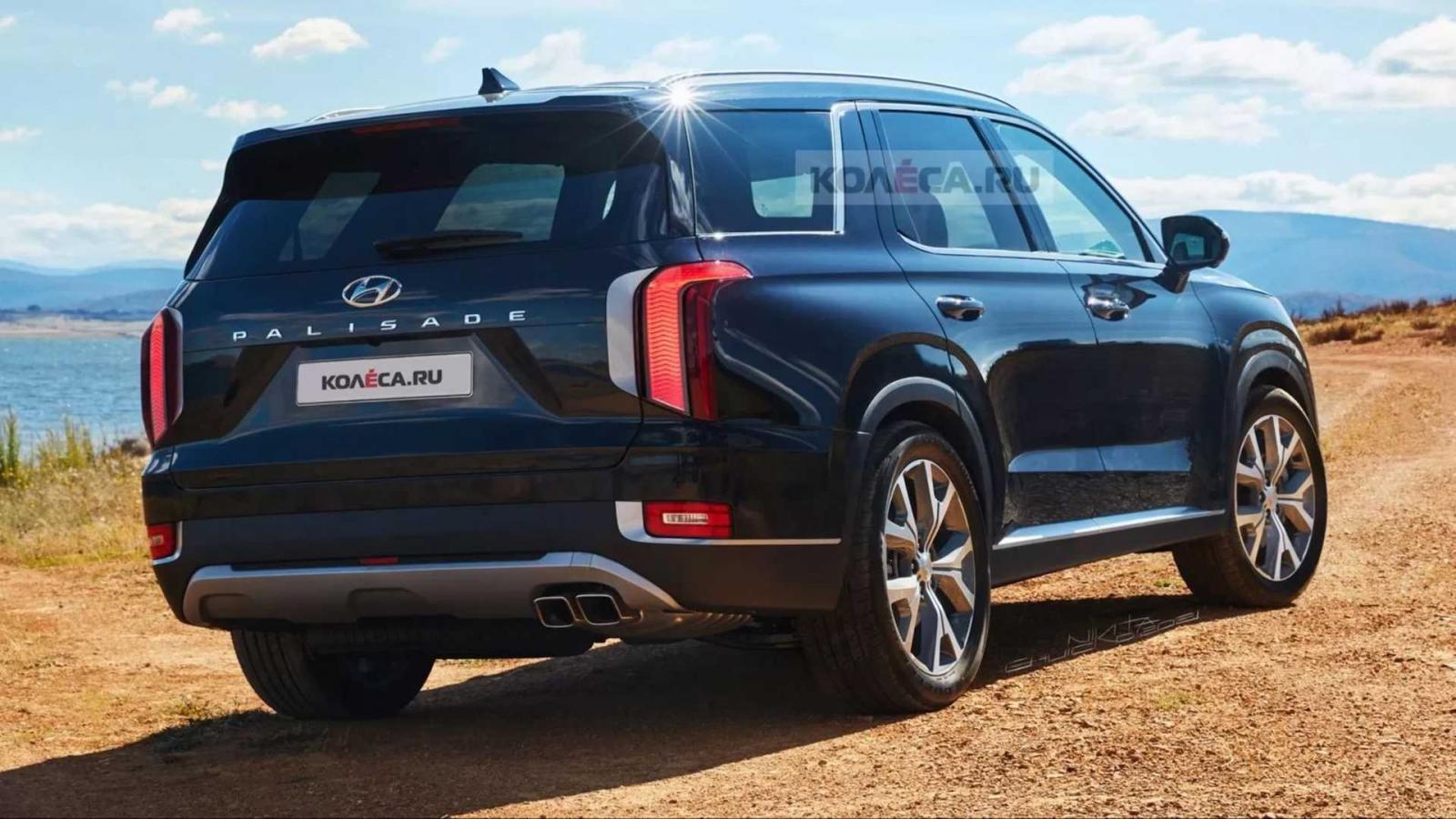 """Ảnh dựng Hyundai Palisade 2022 chân thực """"chuẩn HD"""" cho người hâm mộ xem trước thiết kế xe."""