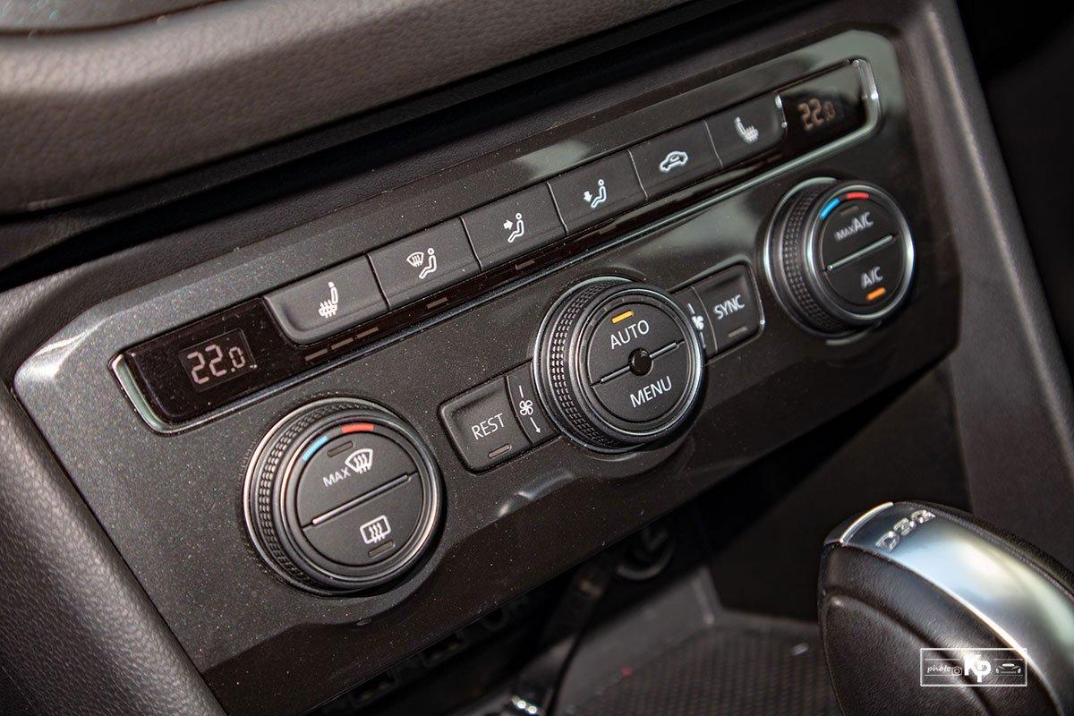 Ảnh Điều hòa xe Volkswagen Tiguan 2021