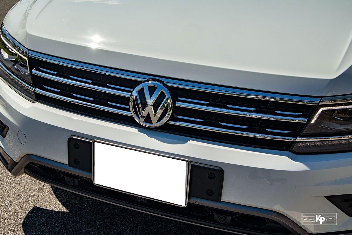 Ảnh Lưới tản nhiệt xe Volkswagen Tiguan 2021