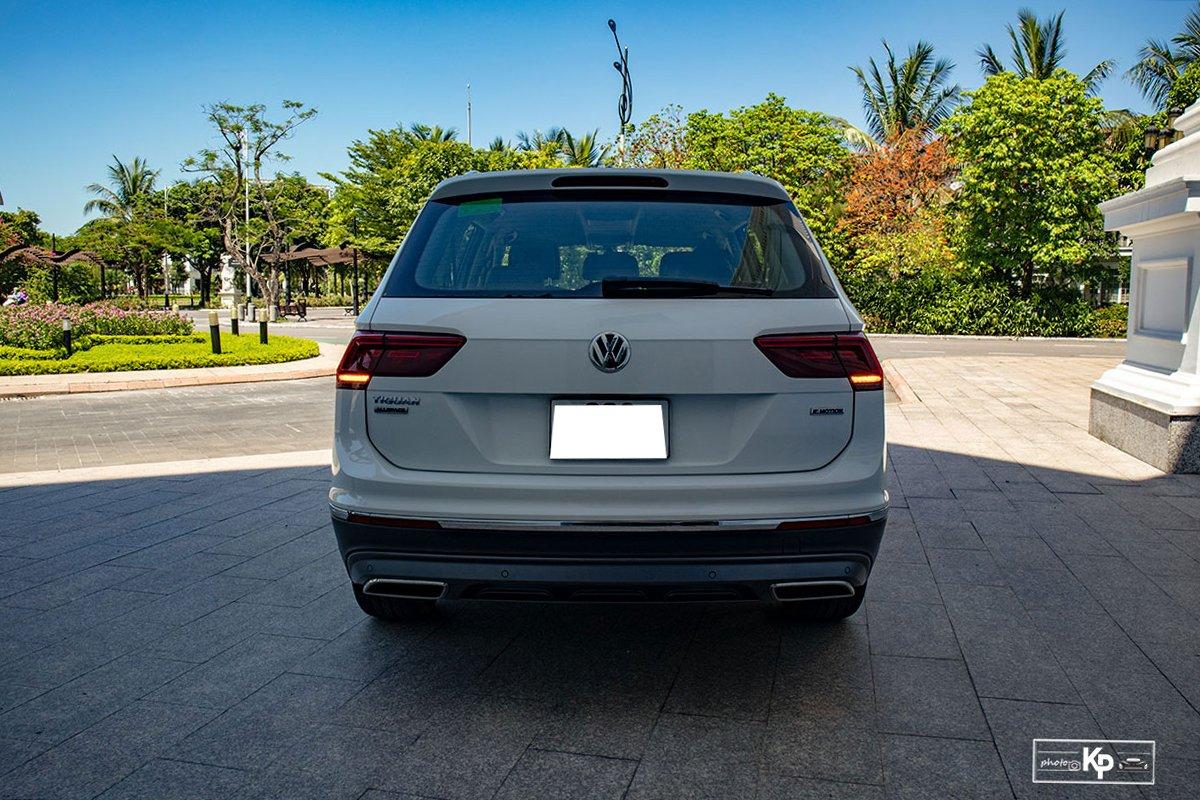 Ảnh Đuôi xe Volkswagen Tiguan 2021