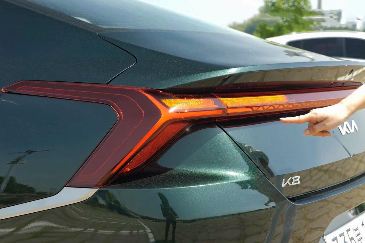 """""""Mục sở thị"""" Kia K8 2021 ngoài đời thực: Đẹp không góc chết, đối thủ lớn của Mercedes-Benz E-Class a8"""