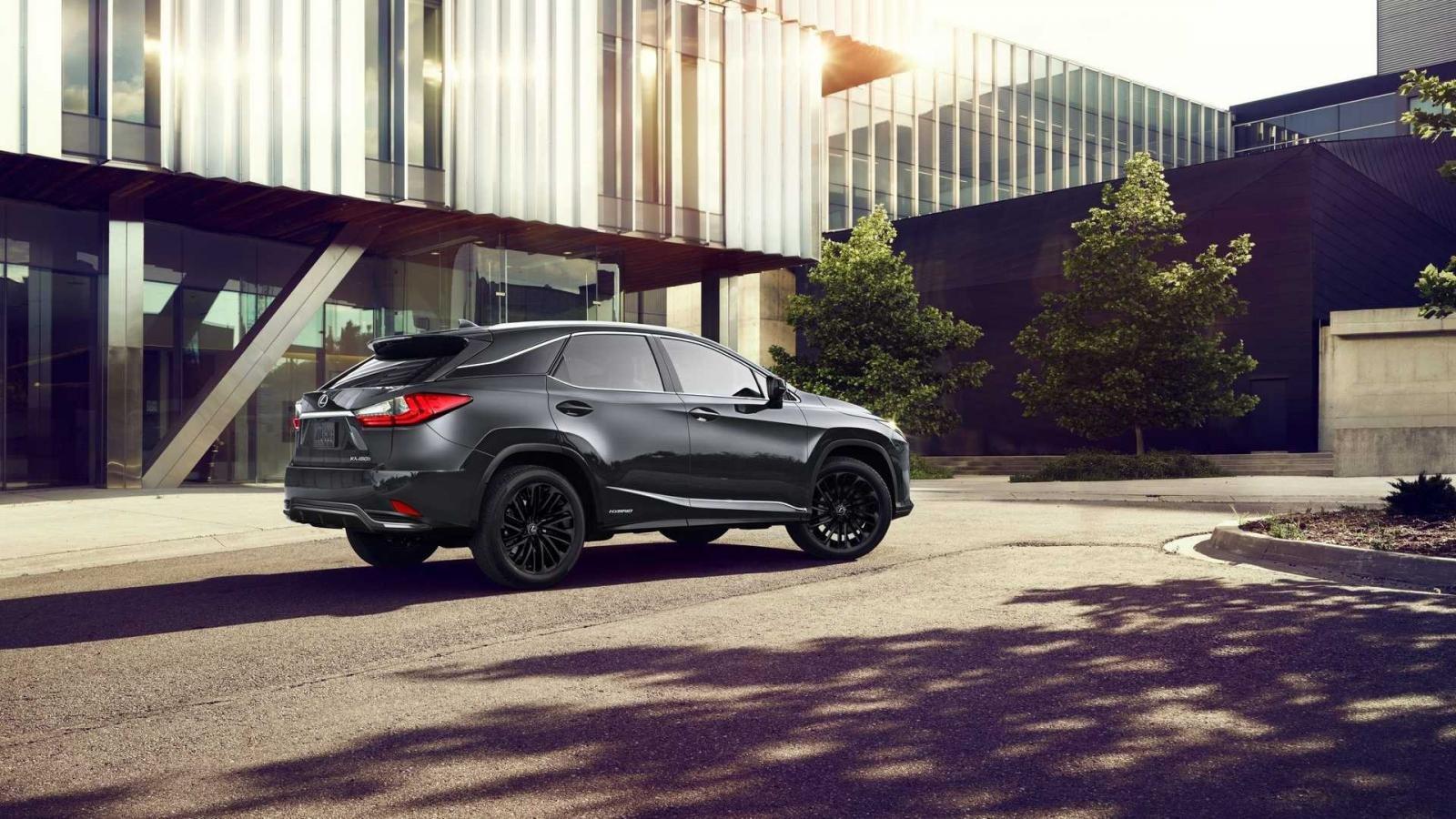 Lexus RX L Black Line 2022 hấp dẫn cực đỉnh.