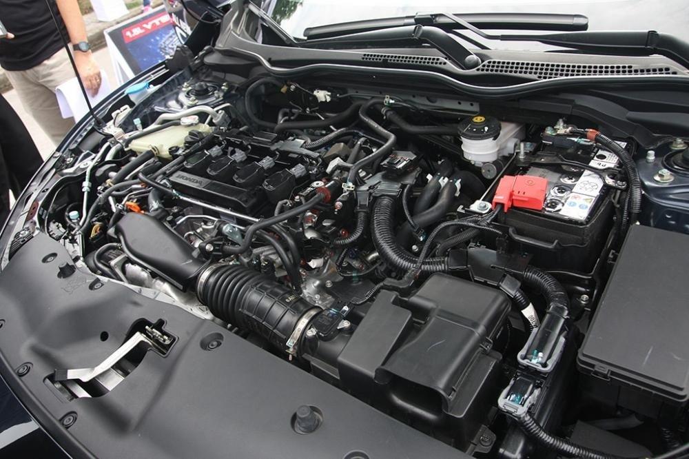 động cơ Honda Civic 2021.