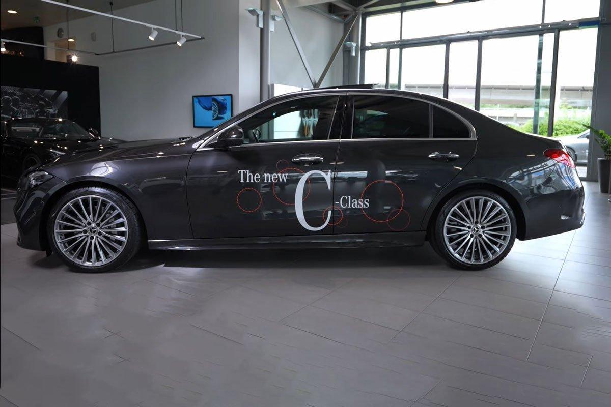Đây là Mercedes-Benz C-Class 2022 ngoài đời thực Đẹp xuất sắc, đáng chờ đợi về Việt Nam a5