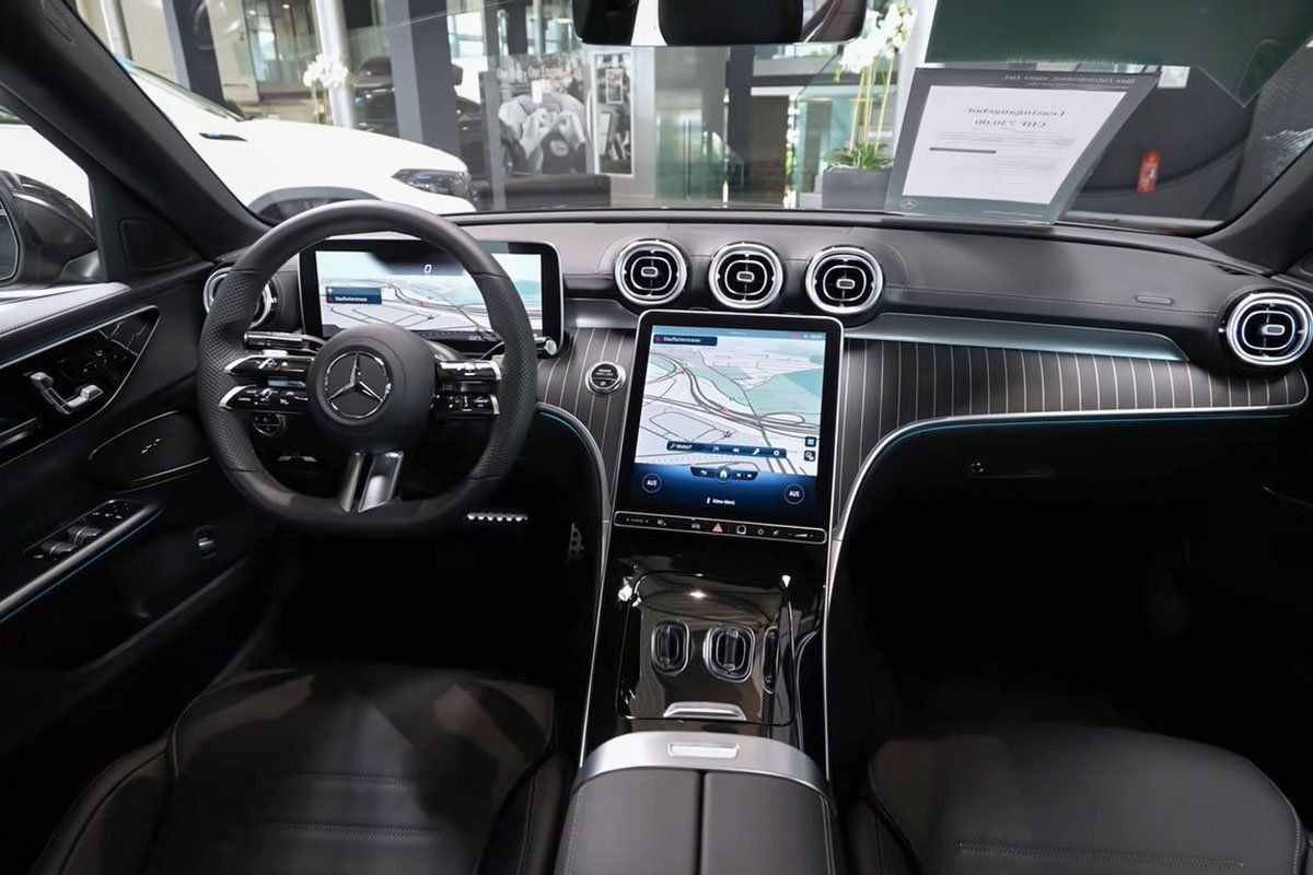 Đây là Mercedes-Benz C-Class 2022 ngoài đời thực Đẹp xuất sắc, đáng chờ đợi về Việt Nam a9