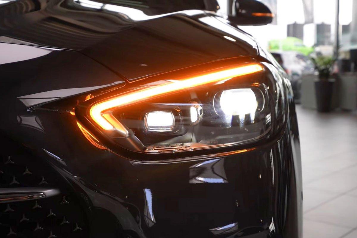 Đây là Mercedes-Benz C-Class 2022 ngoài đời thực Đẹp xuất sắc, đáng chờ đợi về Việt Nam a3