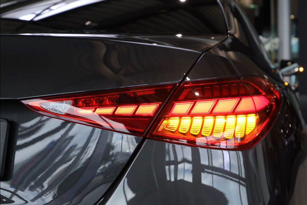 Đây là Mercedes-Benz C-Class 2022 ngoài đời thực Đẹp xuất sắc, đáng chờ đợi về Việt Nam a8