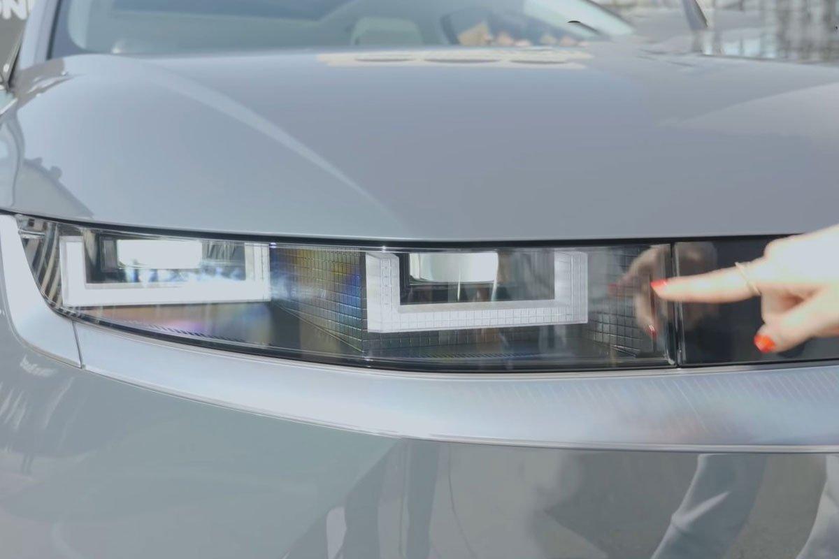 Bóc tem Hyundai Ioniq 5 2022 Xe điện xịn xò, cùng phân khúc Tucson, nhưng dài hơn cả Palisade a2