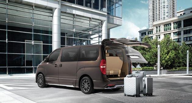 Hyundai Starex mới an toàn tuyệt đối, tiện dụng cực đỉnh.