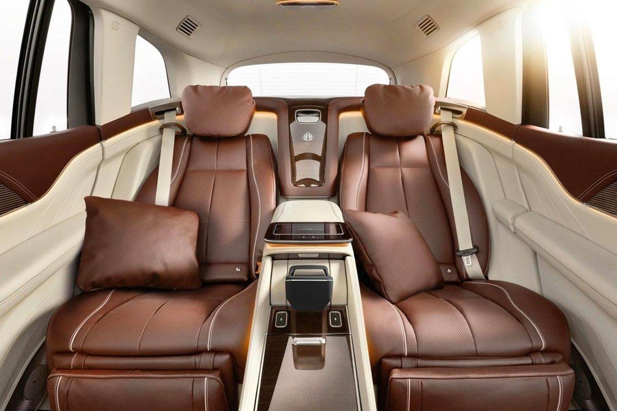 Nội thất của Mercedes-Maybach GLS 600 4MATIC vô cùng rộng rãi và tiện nghi