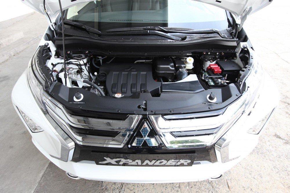 Động cơ xe Mitsubishi Xpander 2021.