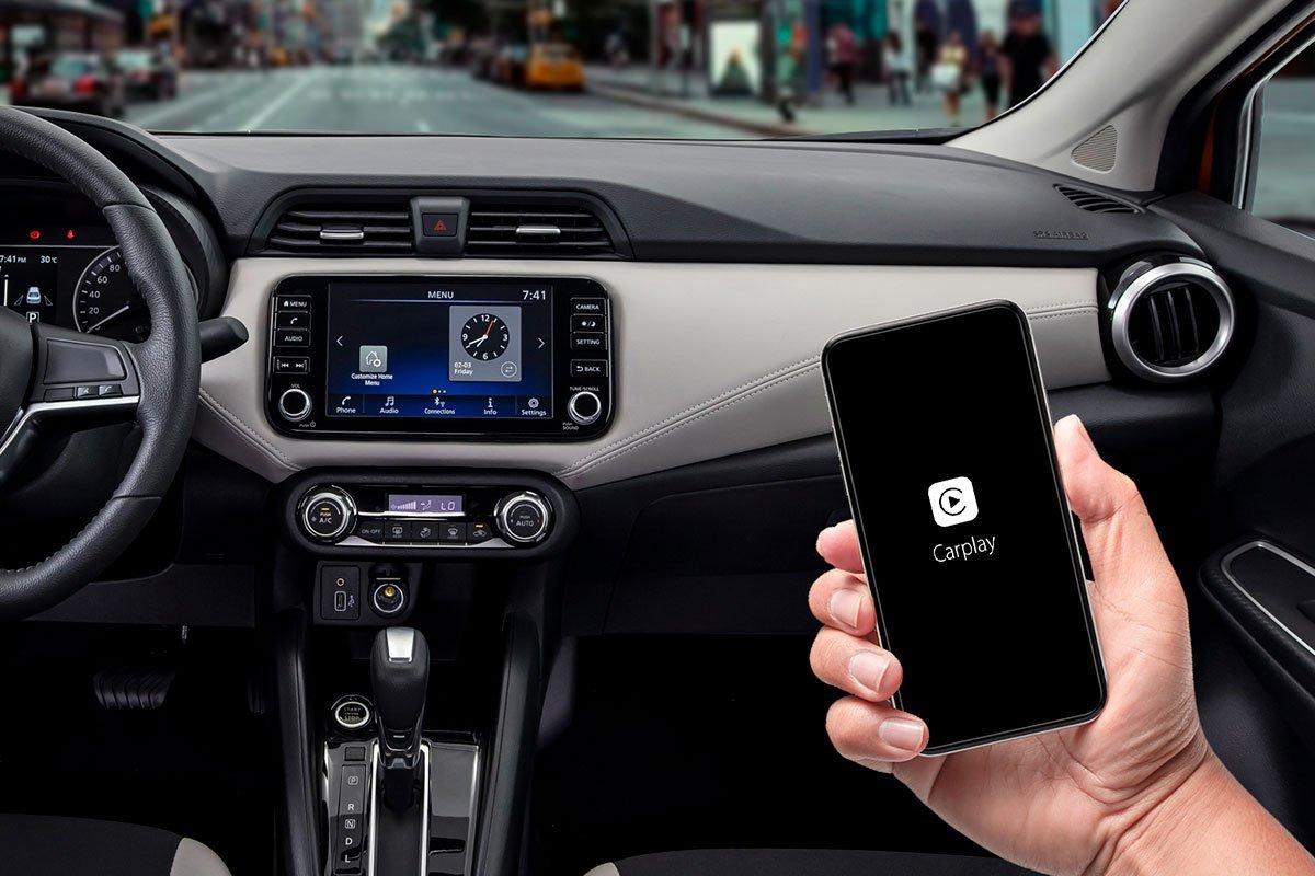 Nội thất bên trong Nissan Almera 2021 cũng nhận nhiều cải tiến mới