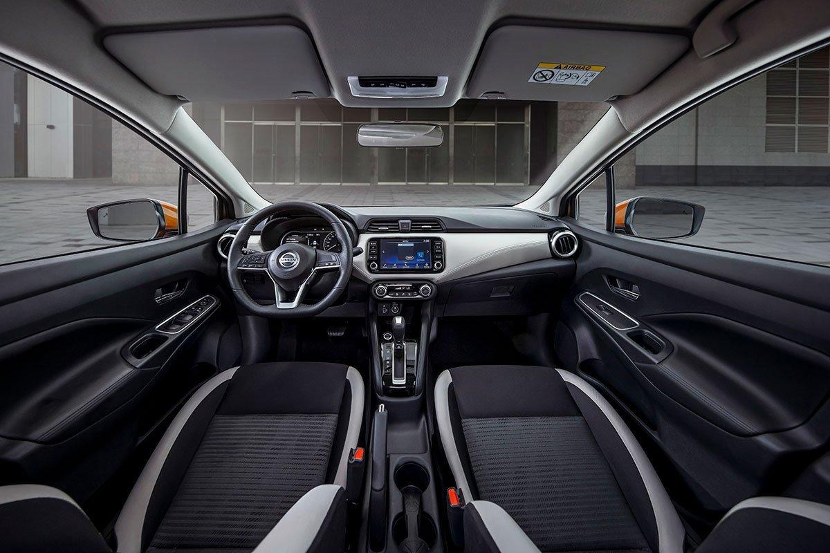 Nội thất bên trong Nissan Almera 2021 cũng nhận nhiều cải tiến.