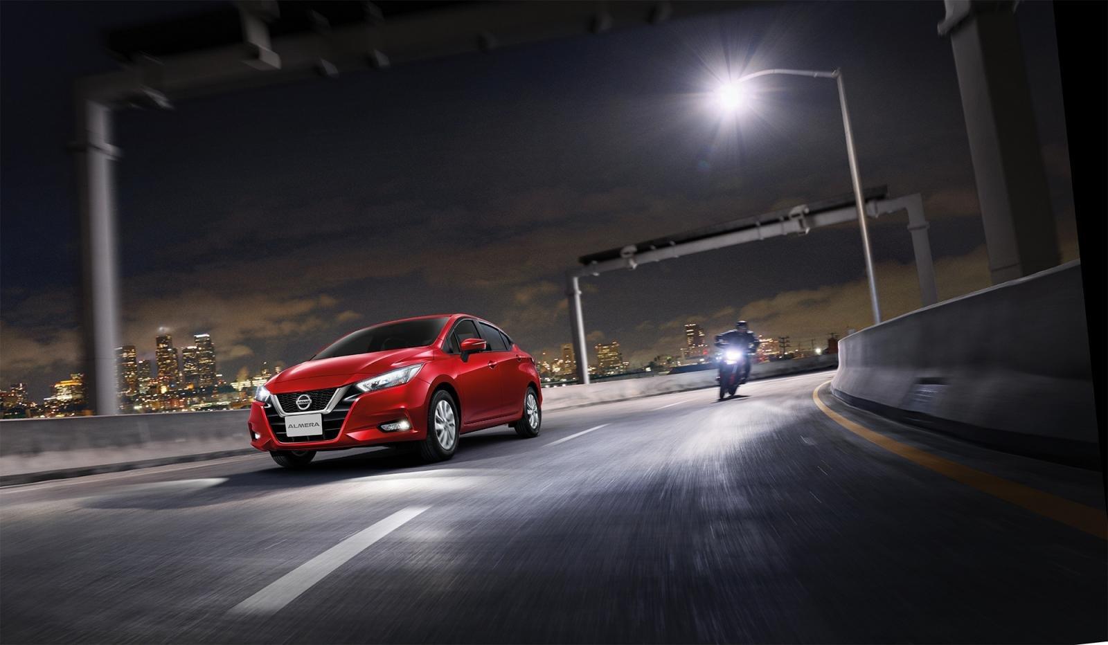 động cơ xe Nissan Almera mới nhất.