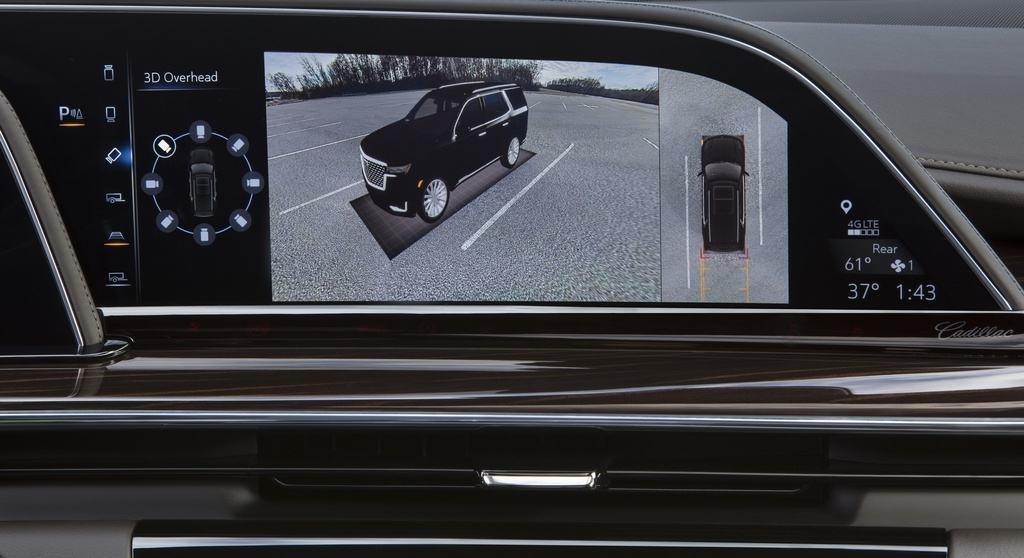 An toàn Cadillac Escalade2021.