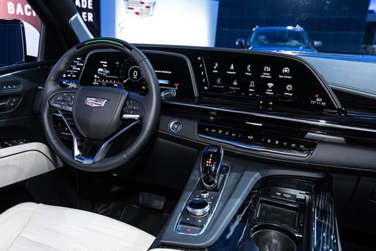 tiện ích xe Cadillac Escalade2021