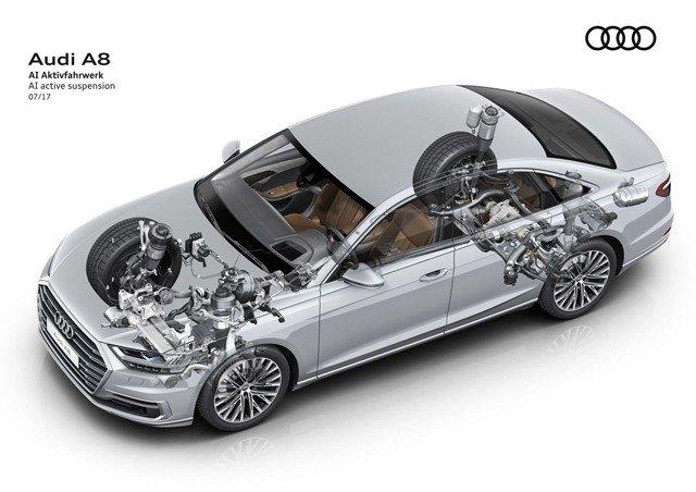 Động cơ xe Audi A8.
