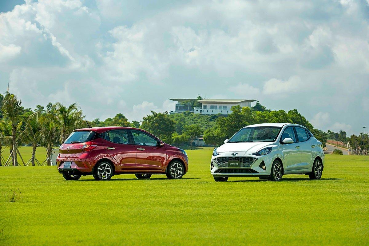 Giá xe Hyundai Grand i10 2021.
