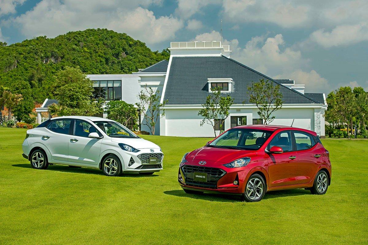 Giá xe Hyundai Grand i10 tháng 8 mới nhất.