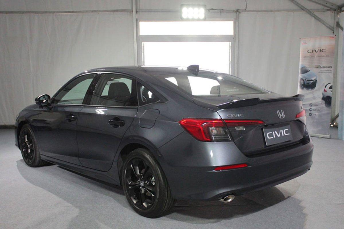Honda Civic 2022 ra mắt Thái Lan, Việt Nam sẽ là thị trường tiếp theo? a4
