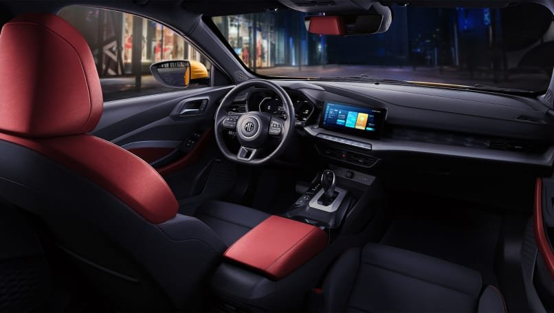 nội thất xe MG5 2021.