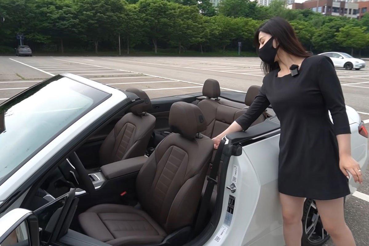 """""""Bóc tách"""" thực tếBMW 430iConvertible 2021: Chiếc xe với """"lỗ mũi"""" khủng lồ sắp về Việt Nam a10"""