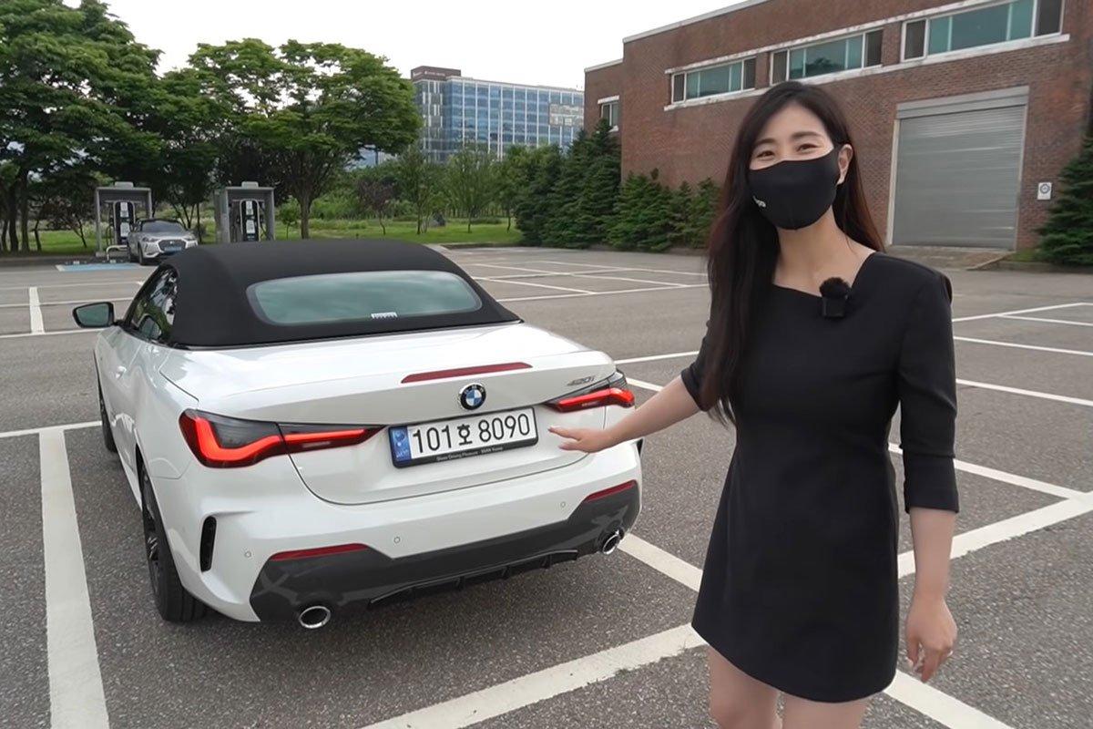"""""""Bóc tách"""" thực tếBMW 430iConvertible 2021: Chiếc xe với """"lỗ mũi"""" khủng lồ sắp về Việt Nam a5"""