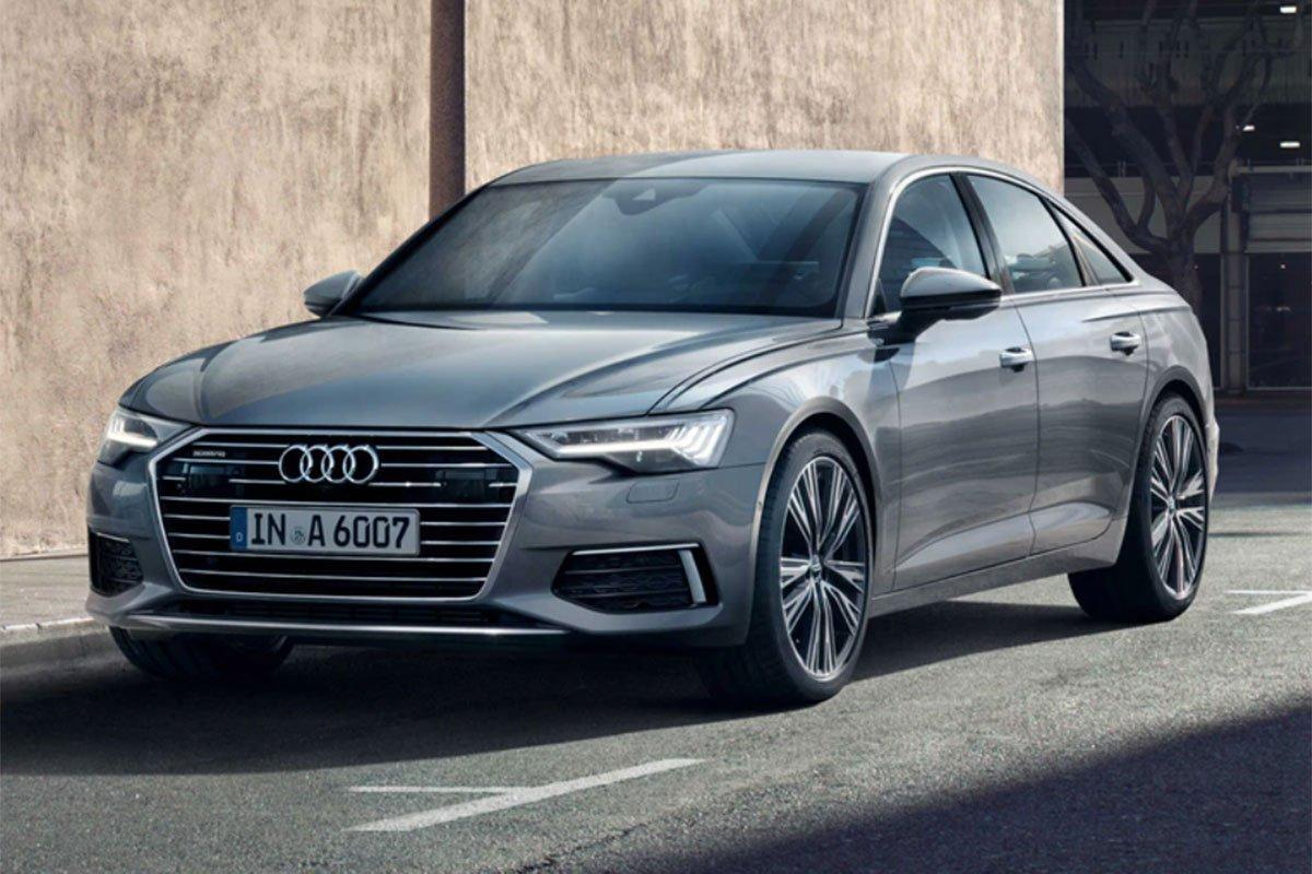 đầu xe Audi A6 2021 mới nhất