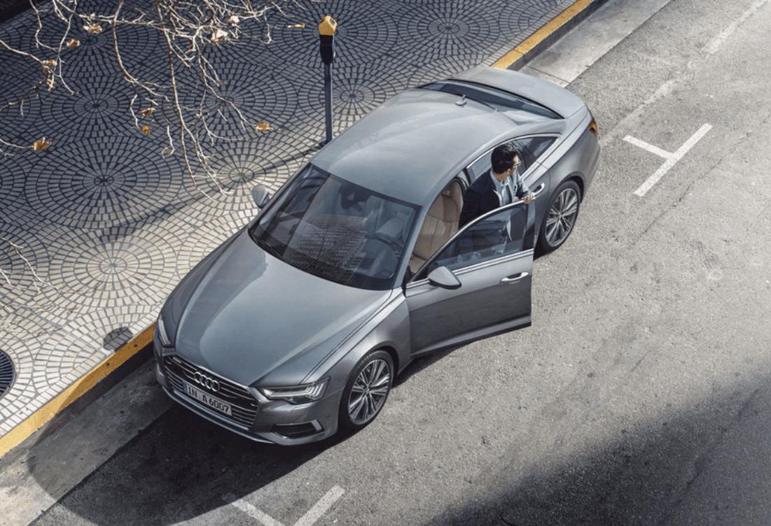 ngoại hình xe Audi A6 2021 mới nhất