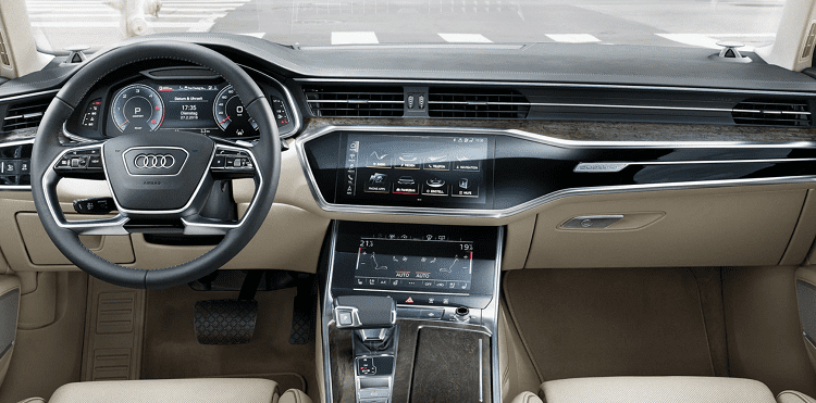 Nội thất xe Audi A6